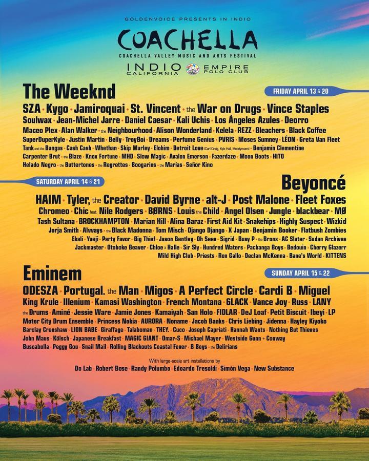 Image result for 2018 Coachella