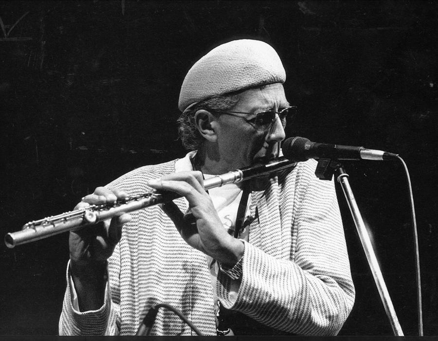 Saxophonist Charles Lloyd, shown in 1990, will play the 40th Playboy Jazz Festival in June. (Los Angeles Times)