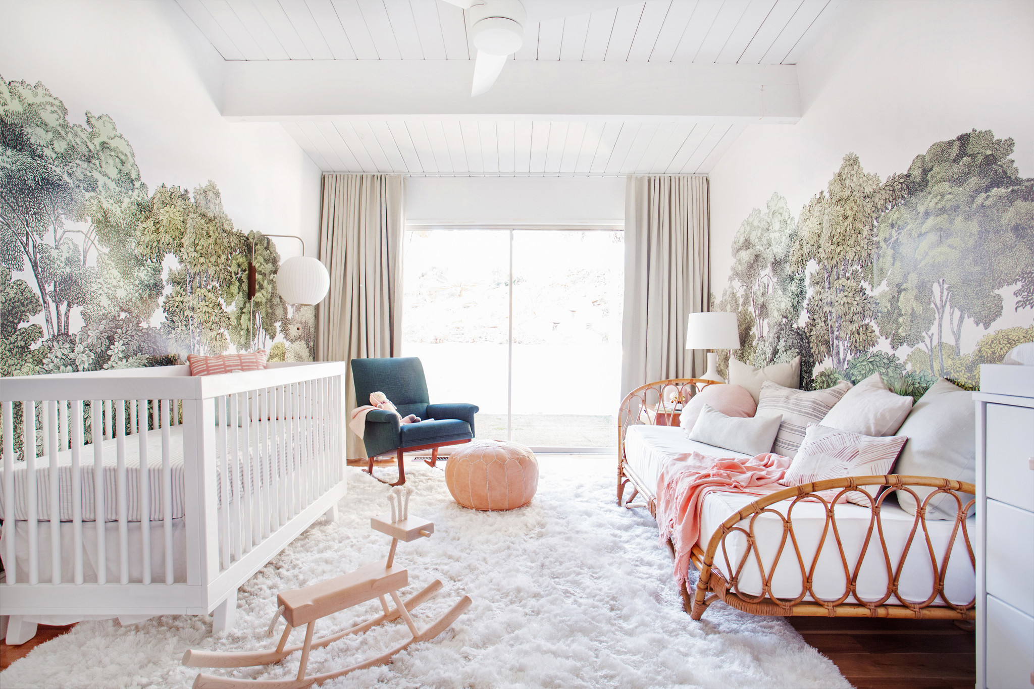 Sophistikids: Emily Henderson created an elegant, modern nursery with flexibility and grown-up appea