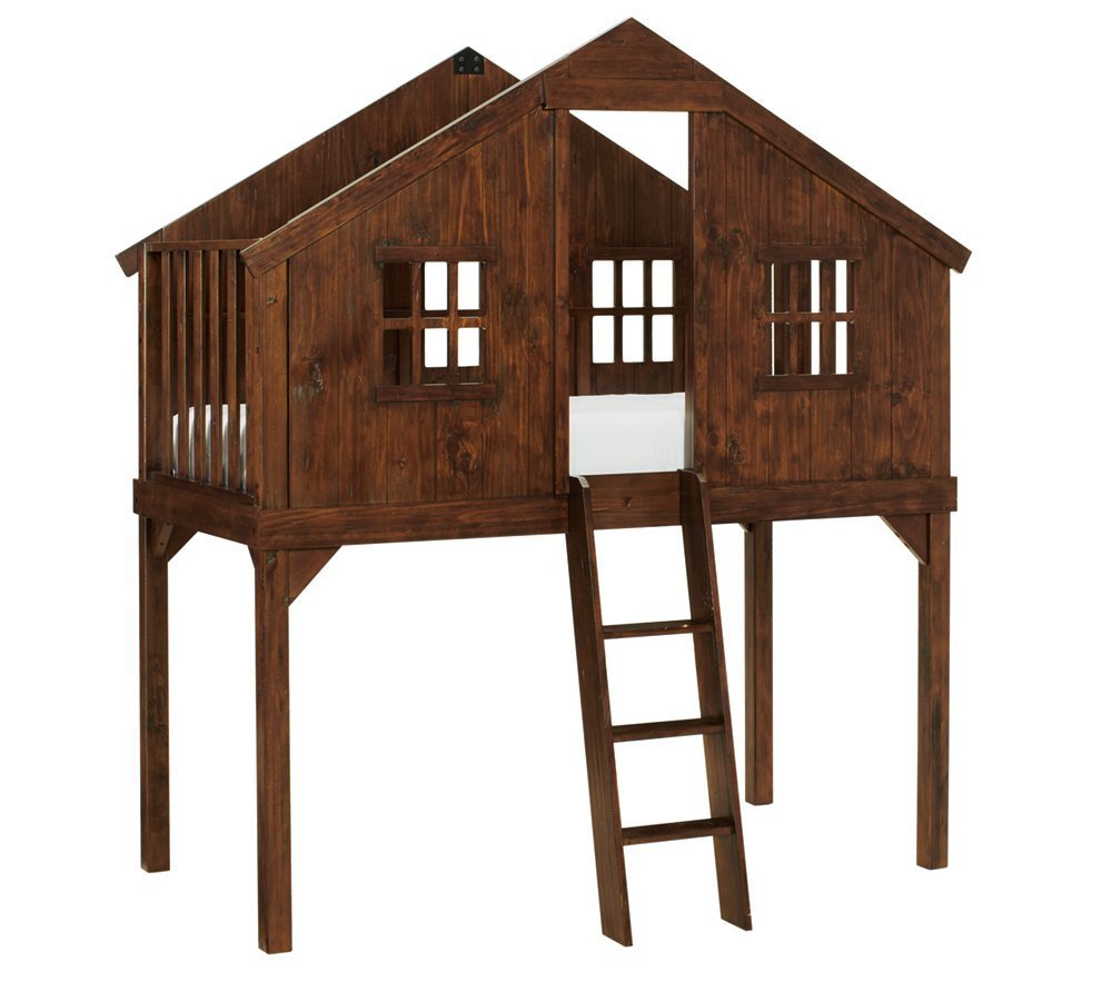 Perma-forts: Lofted Treehouse Bed, $1,599 at Pottery Barn Kids. Credit: Pottery Barn Kids