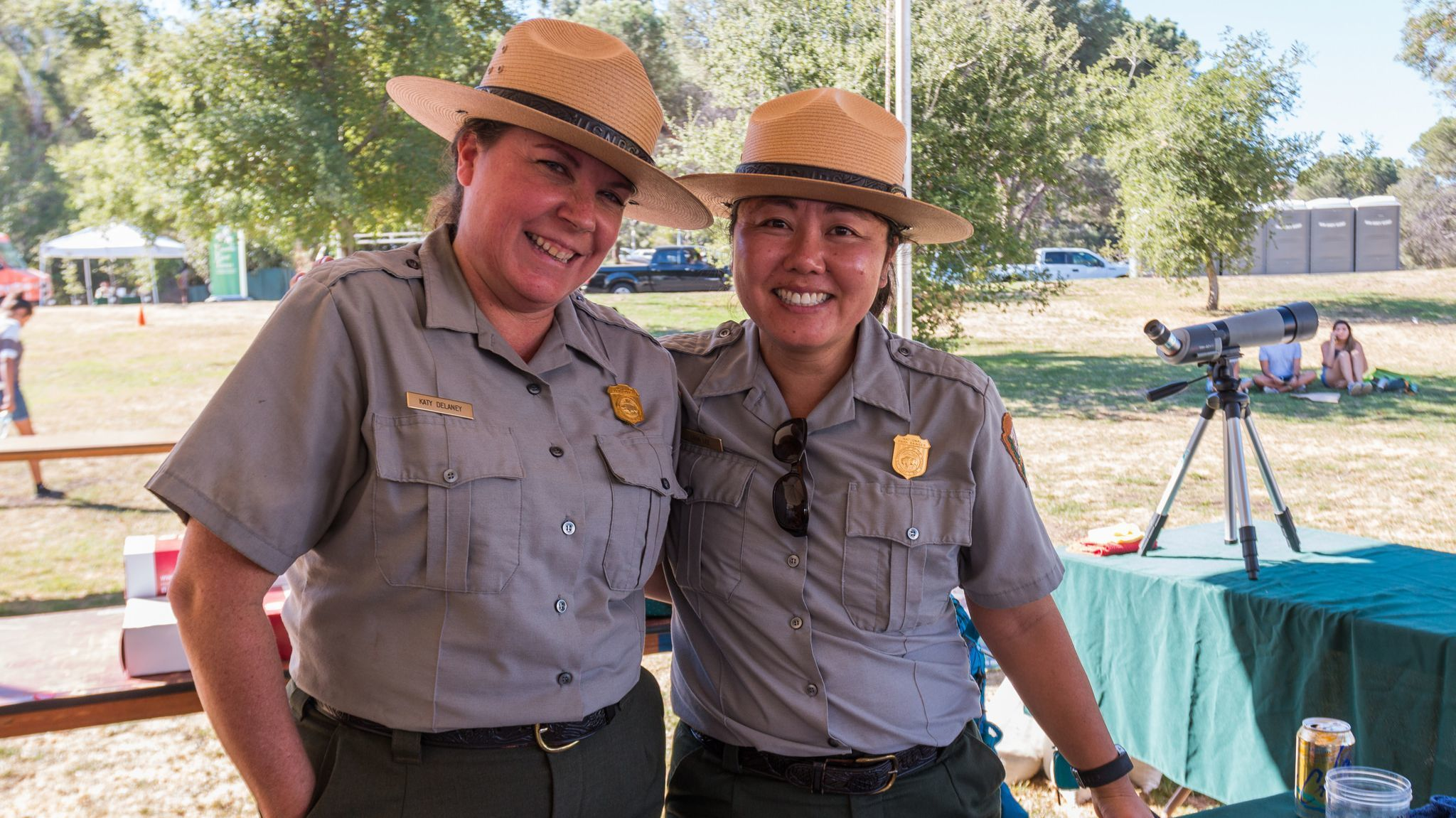 National Park Service rangers