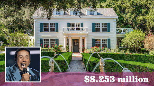 Sale of Smokey Robinson's former estate was Encino's chart-topper of 2017