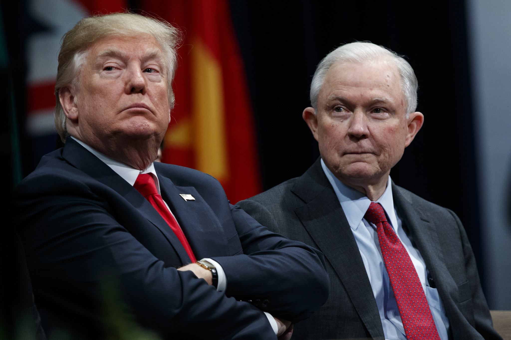 Image result for trump and sessions