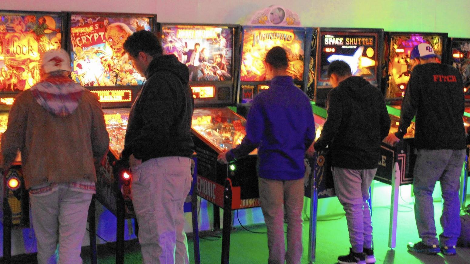 Vintage arcades