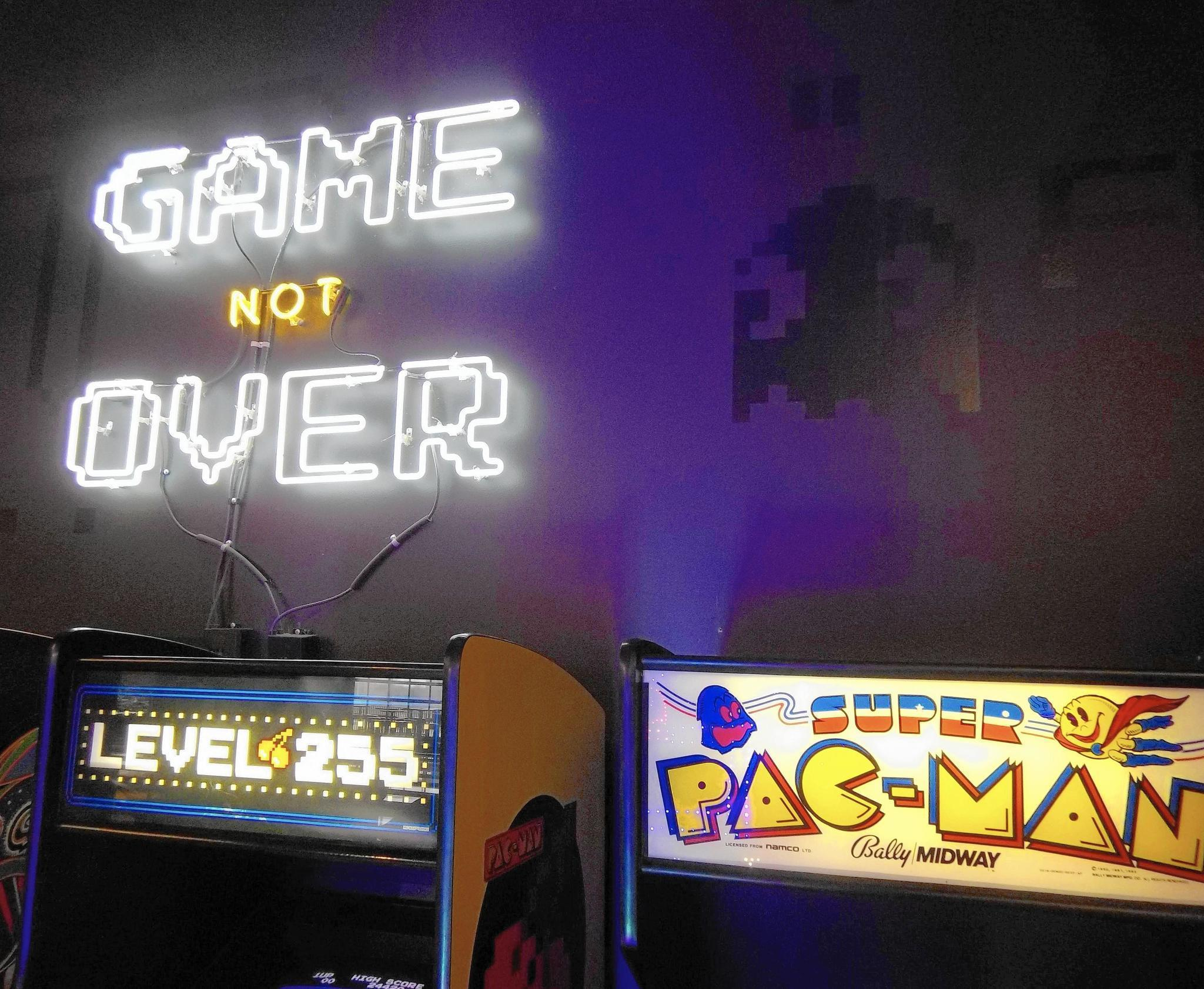 No quarters necessary: Old-school pinball and video game arcades in the suburbs