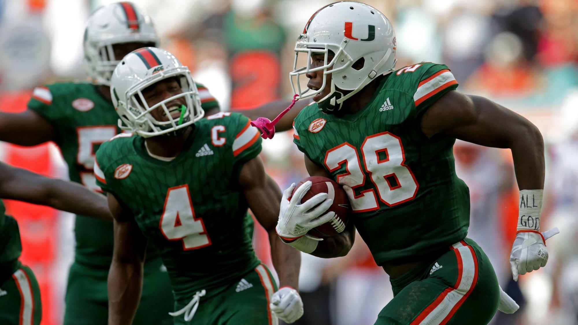 Fl-sp-um-hurricanes-michael-jackson-jaquan-johnson-returning-20180105