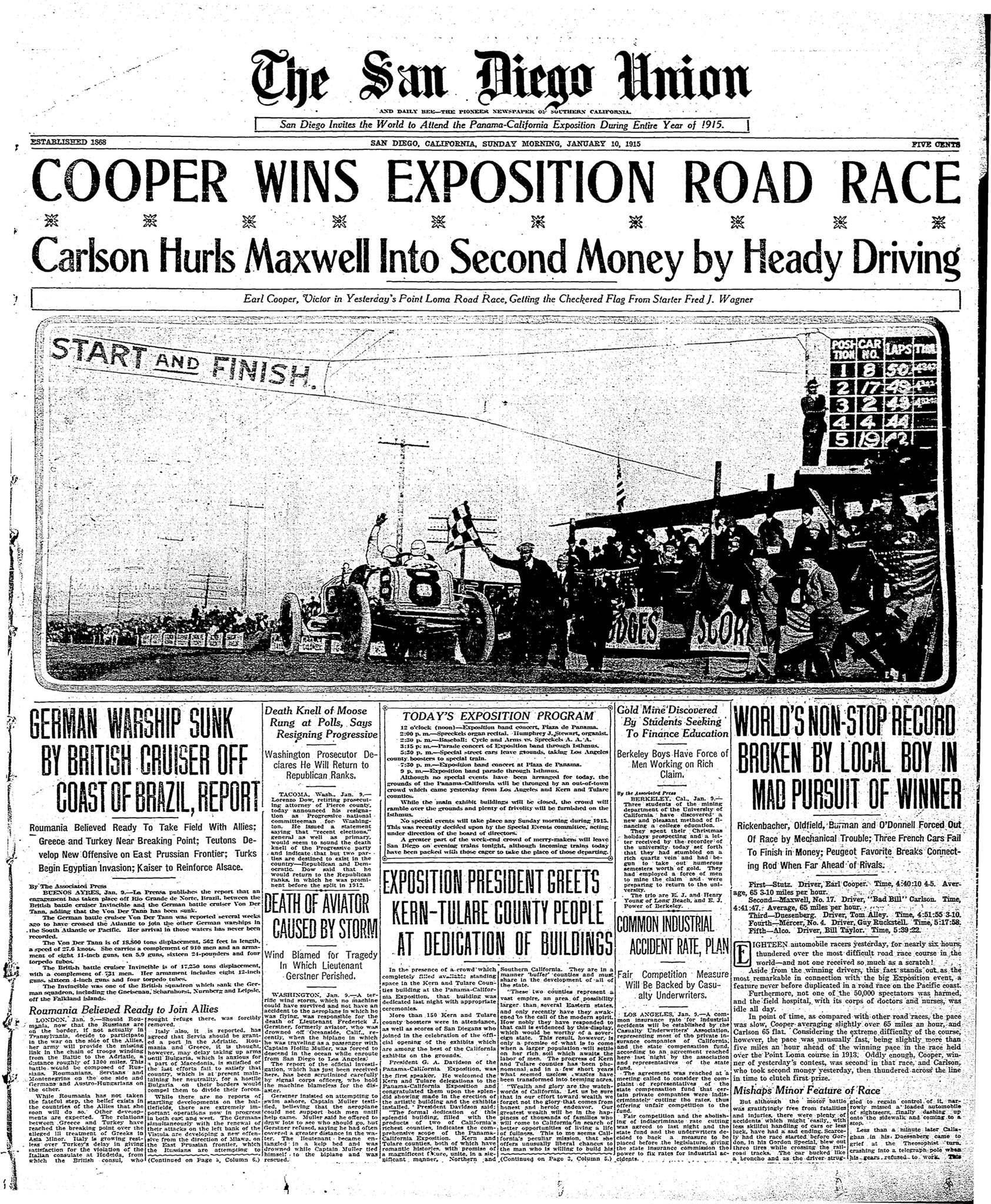 January 10, 1915