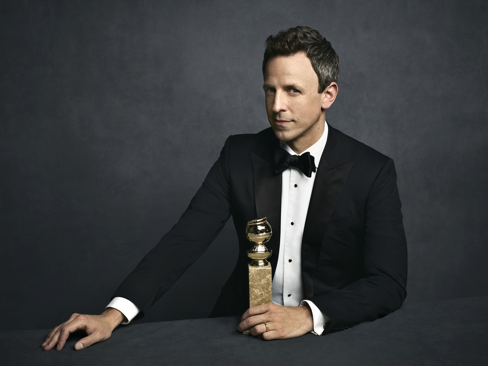 How Golden Globes Host Seth Meyers Stepped Up His Game