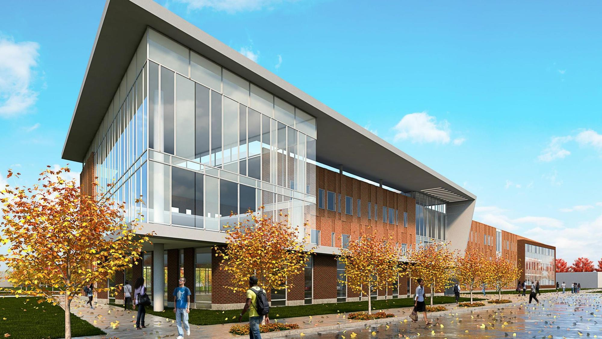 Design plans for new englewood high school promoted ahead of public hearings chicago tribune