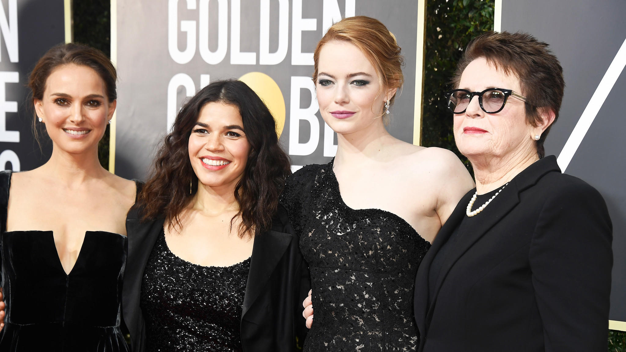 Golden Globes 2018: All-black style on the red carpet shows solidarity