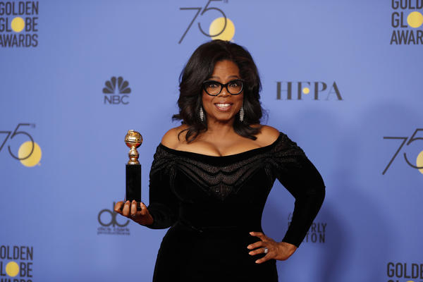 Oprah Winfrey has double-figure lead over Donald Trump, poll indicates
