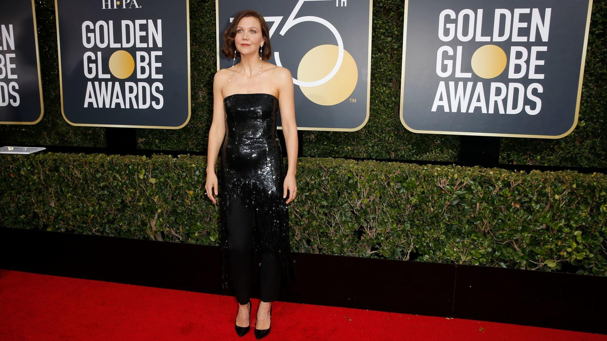 Women wear the pants at the 75th Golden Globes