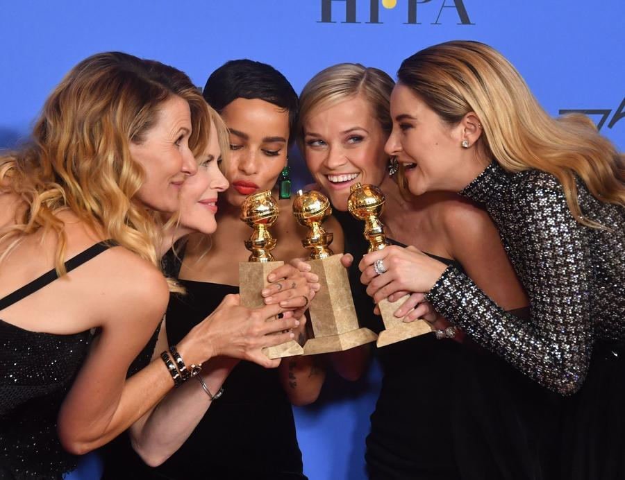 Big Little Lies Completely Destroyed At The 2018 Golden Globes