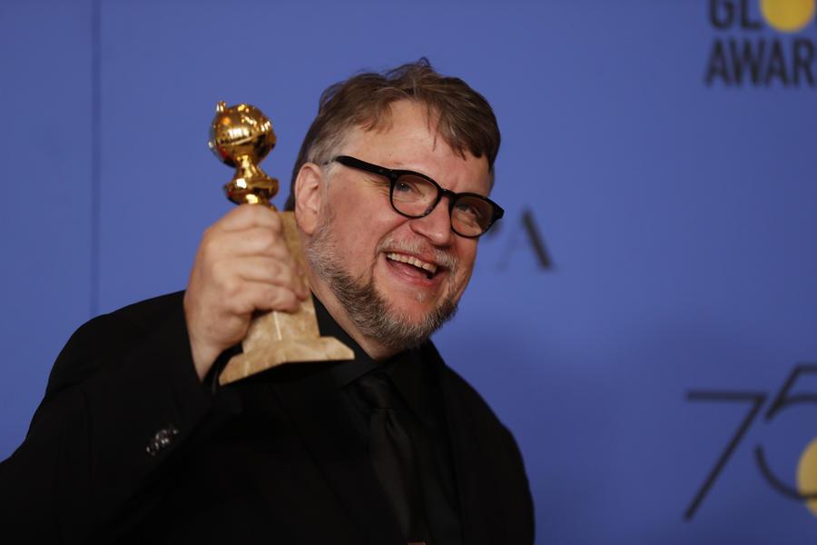 Best director Golden Globe goes to Guillermo del Toro
