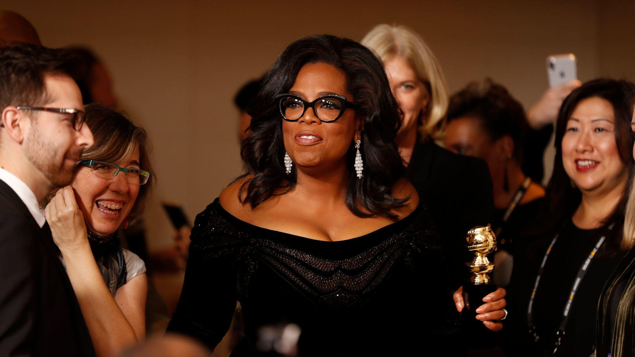 Oprah 2020? People Are Asking After Golden Globes Speech