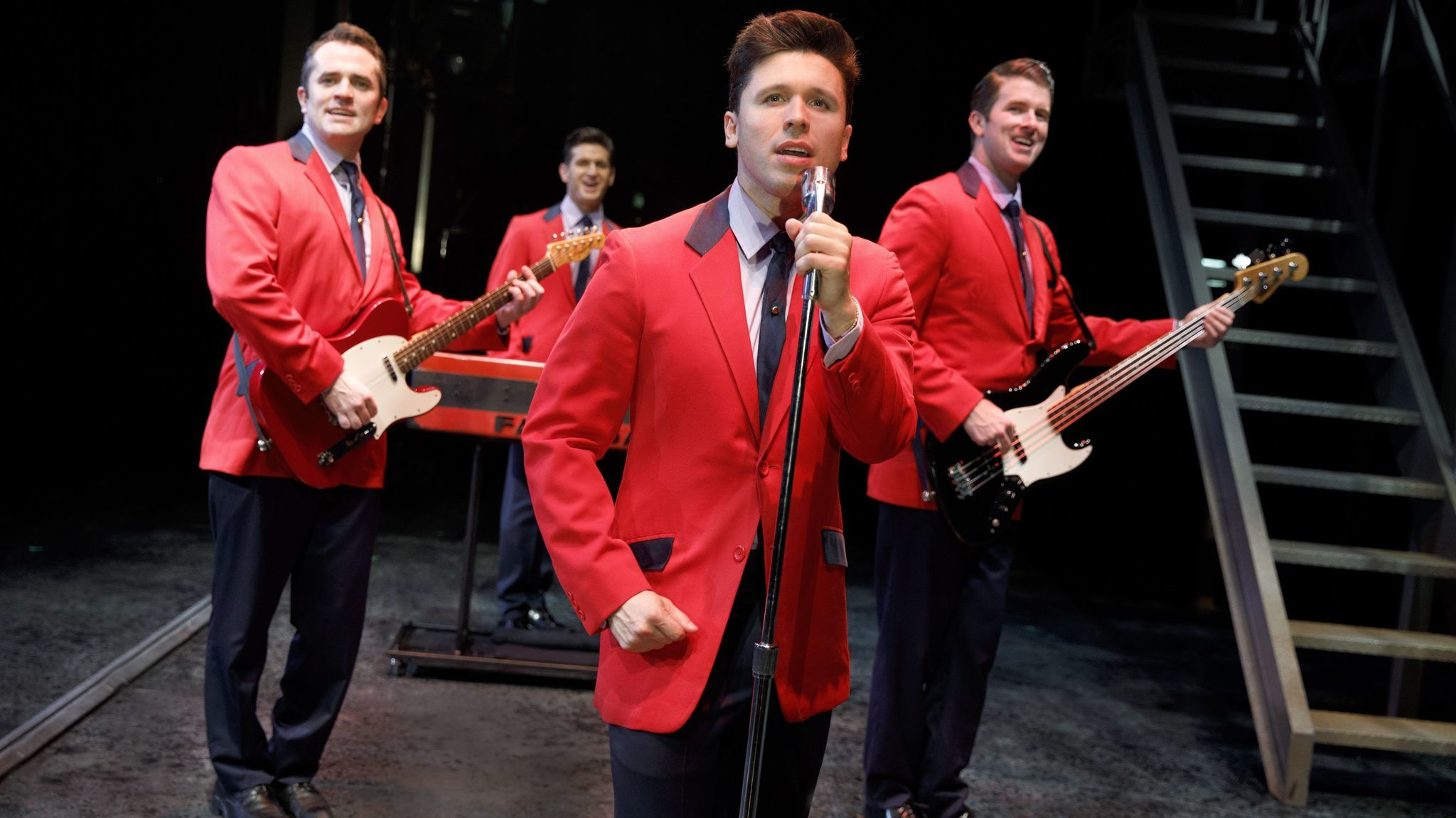 'Jersey Boys' returns to Costa Mesa for a three-night run | The Los Angeles Times