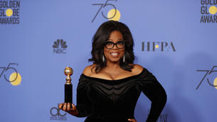Oprah at the Golden Globes: Is she running for president? She should, they say