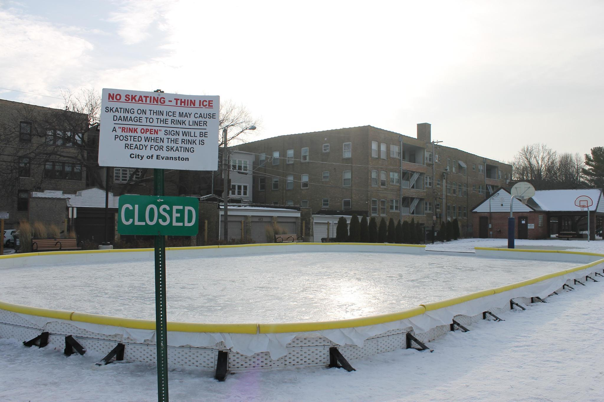Cold Snap Allowed Outdoor Ice Rinks To Open, The Thaw Shut Them Down    Evanston Review