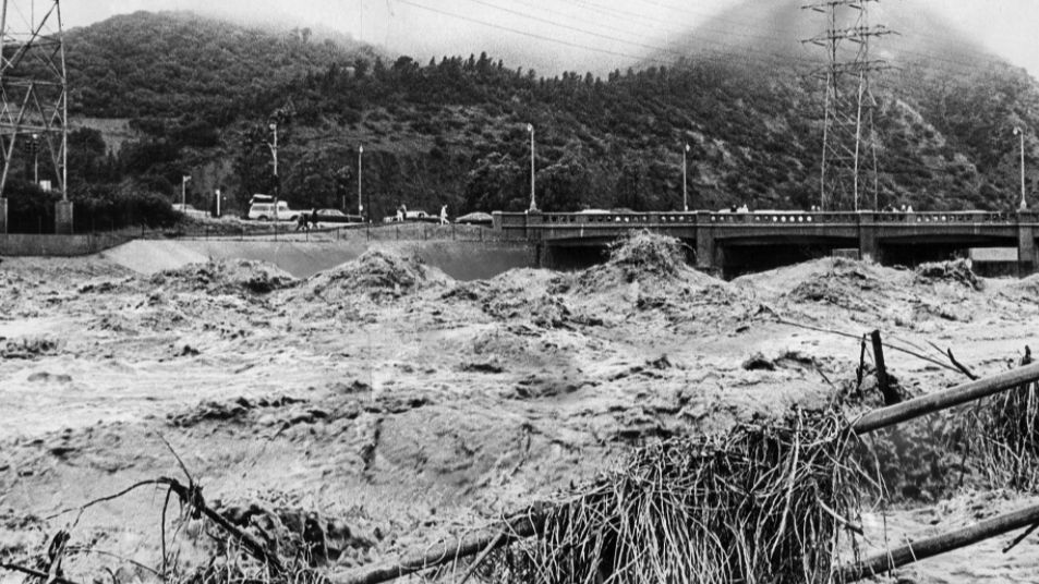 1969 flooding along L.A. River