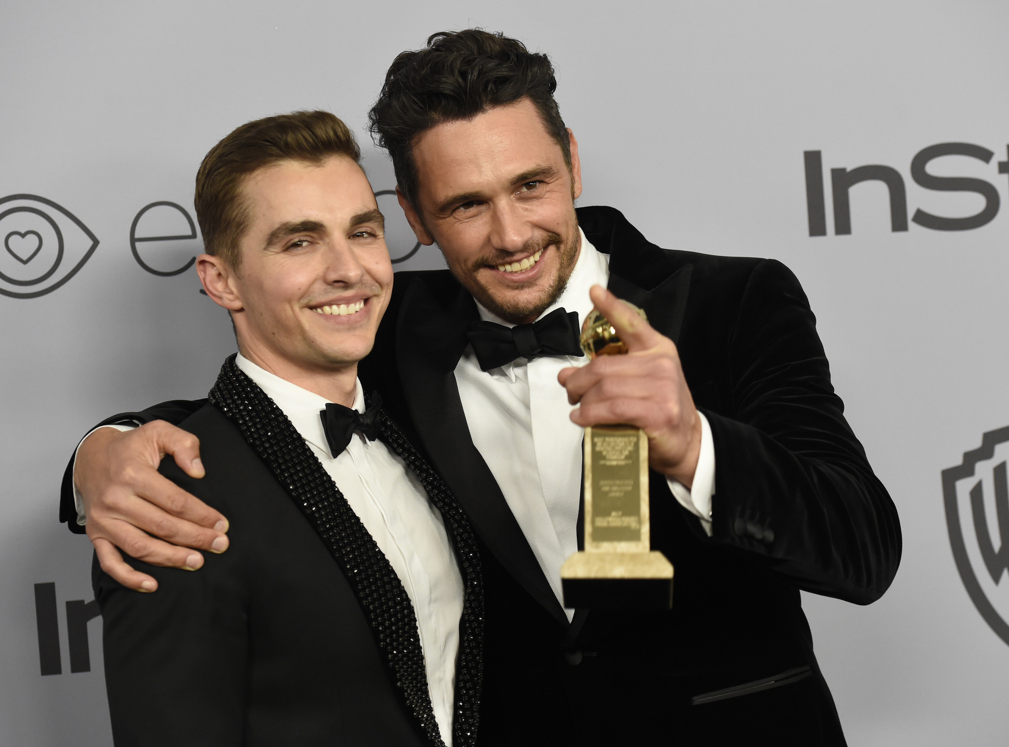 James Franco says alle...
