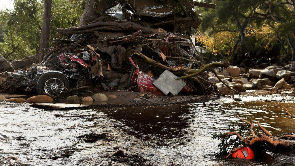 Death toll rises to 17 in Montecito; 100 homes destroyed by mudslides