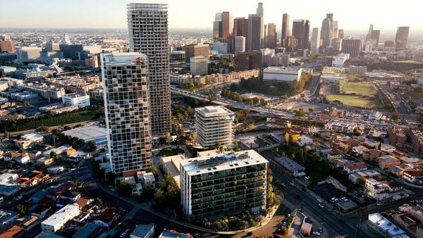 Downtown L.A.'s development boom heads west with a big new housing and retail complex