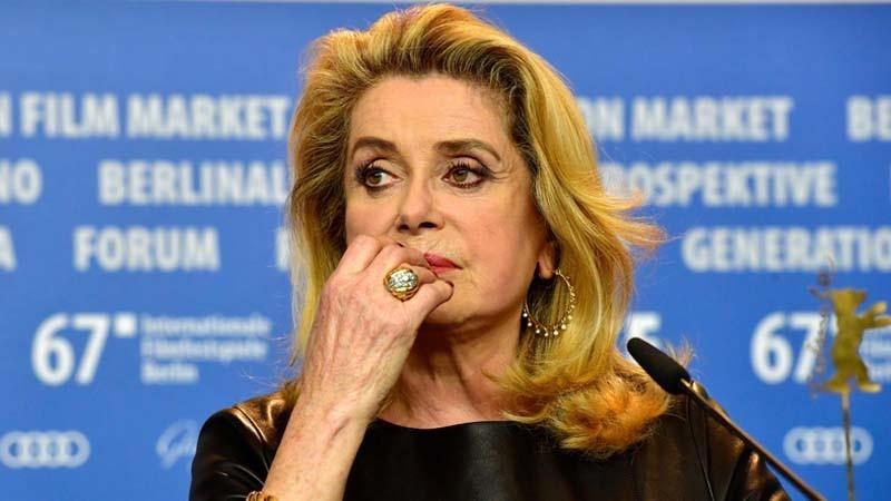 Catherine Deneuve. (John MacDougall / AFP/Getty Images)