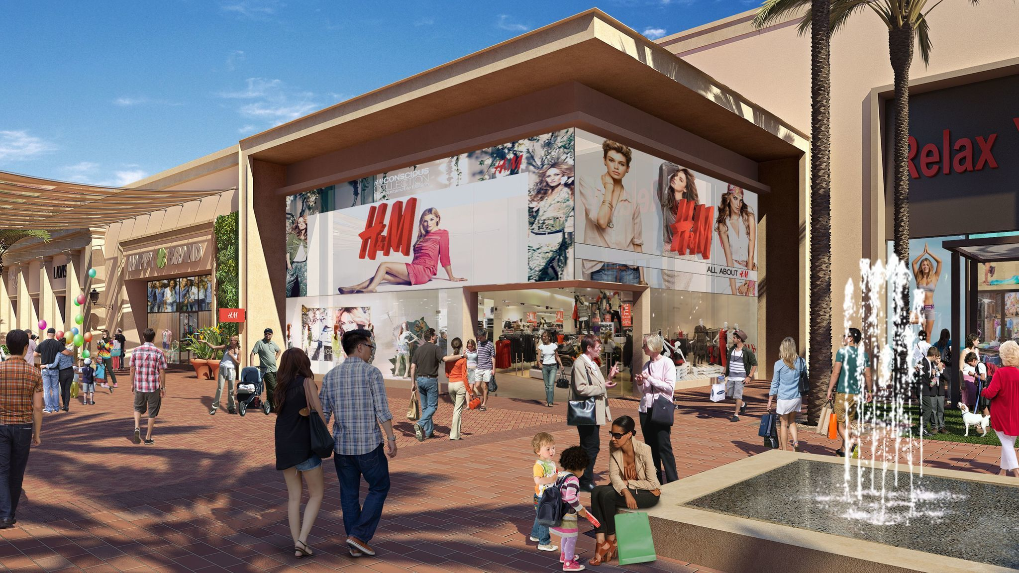 Hello Kitty Cafe and Afters Ice Cream are among 30 new additions planned for Spectrum Center | The Los Angeles Times