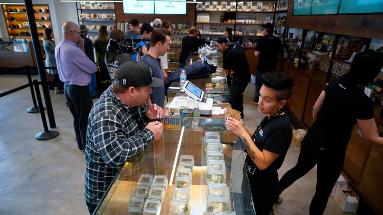 First day of recreational marijuana sales in San Diego