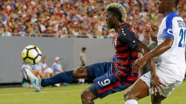 Galaxy's Zardes joins U.S. national team in looking toward future, not past