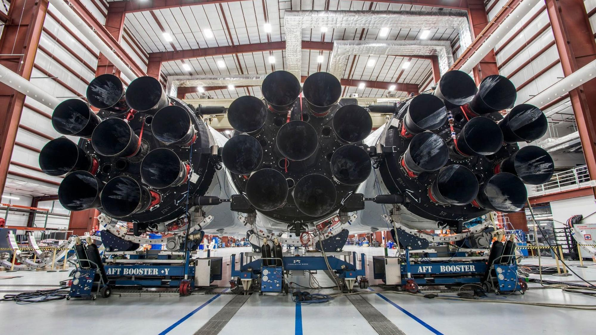The Falcon Heavy rocket will be one of SpaceX's biggest tests yet