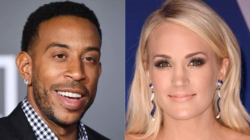 Carrie Underwood, Ludacris Team Up For Super Bowl
