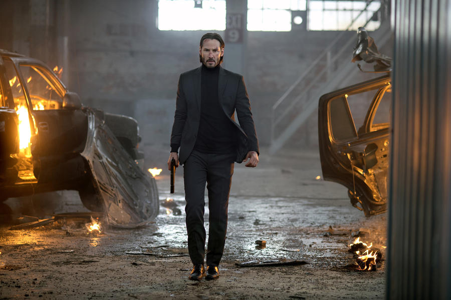 Keanu Reeves stars as John Wick in