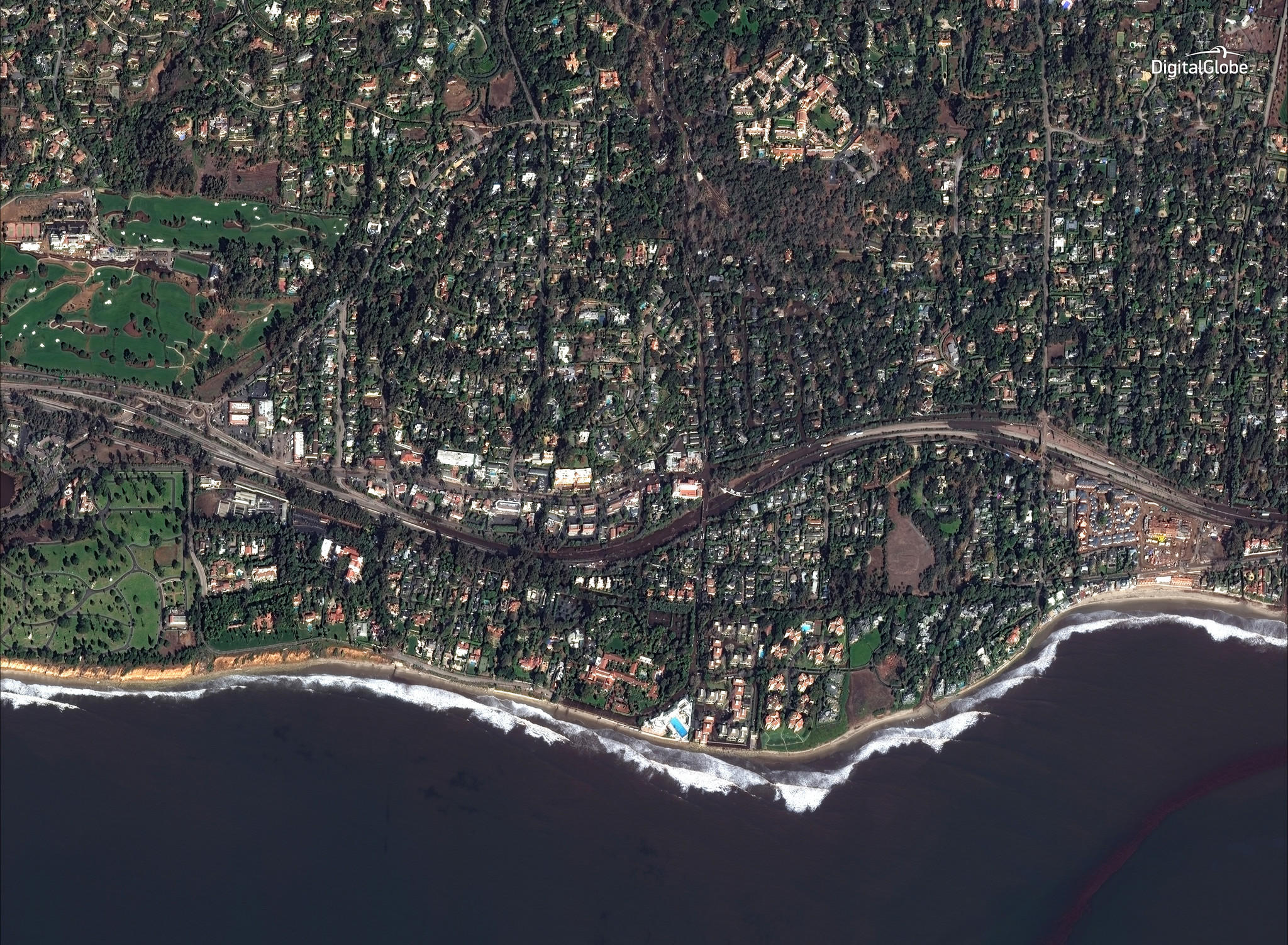 Slide Over These Photos To Compare Beforeandafter Satellite - Satellite picture of