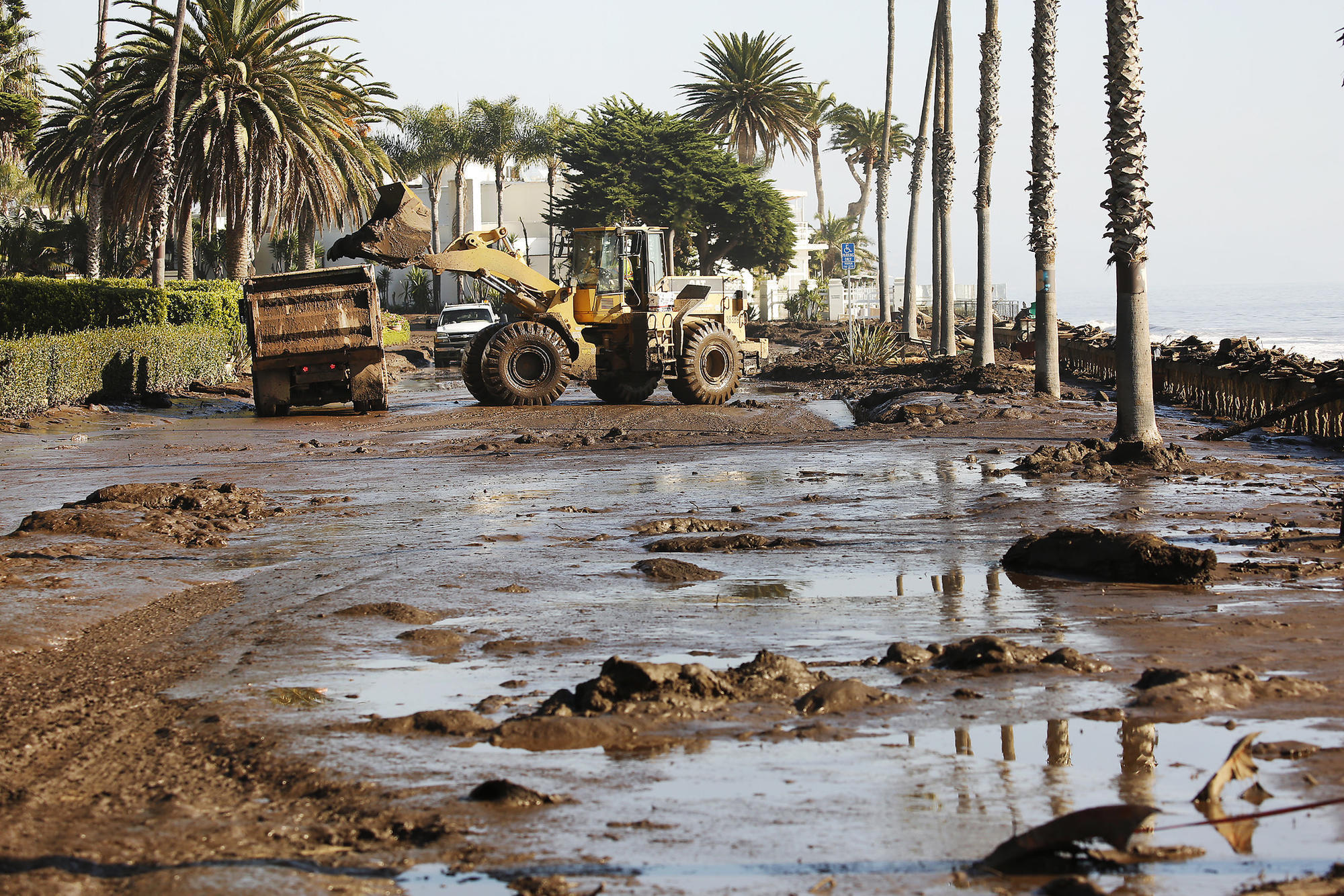 Montecito braced for fire, but mud was a more stealthy, deadly threat