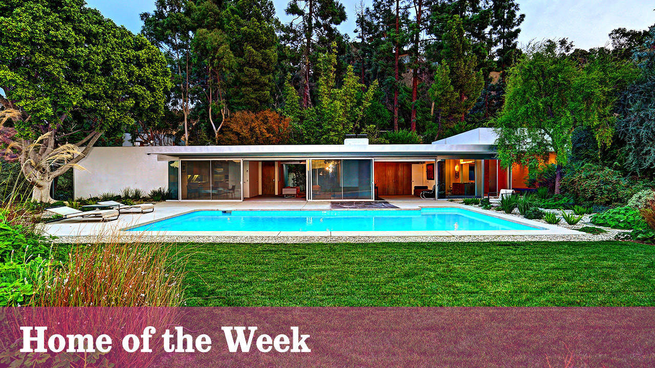 Home of the week: Loring House in Hollywood Hills West offers pristine example of boxcar design