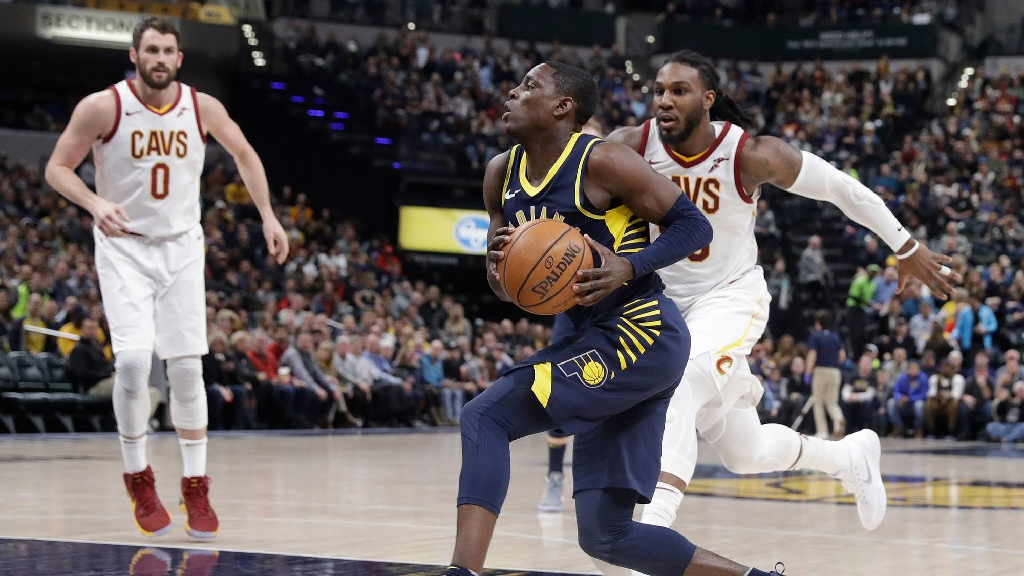 NBA roundup: Pacers come from 22 down to hand Cavaliers third consecutive loss