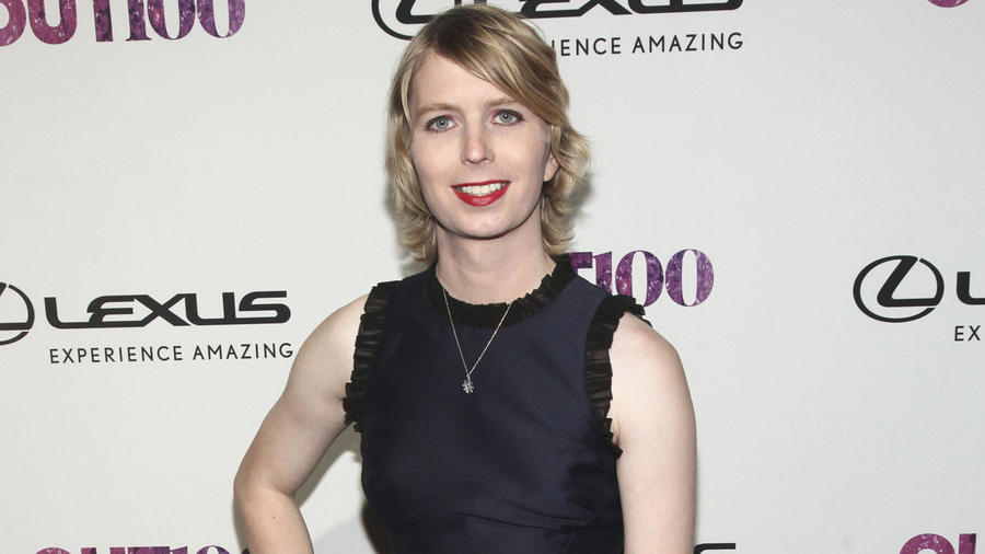 Chelsea Manning (Andy Kropa / Associated Press)