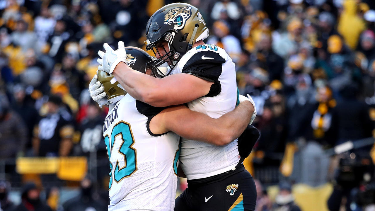 Jaguars advance to AFC title game with 45-42 upset of Steelers
