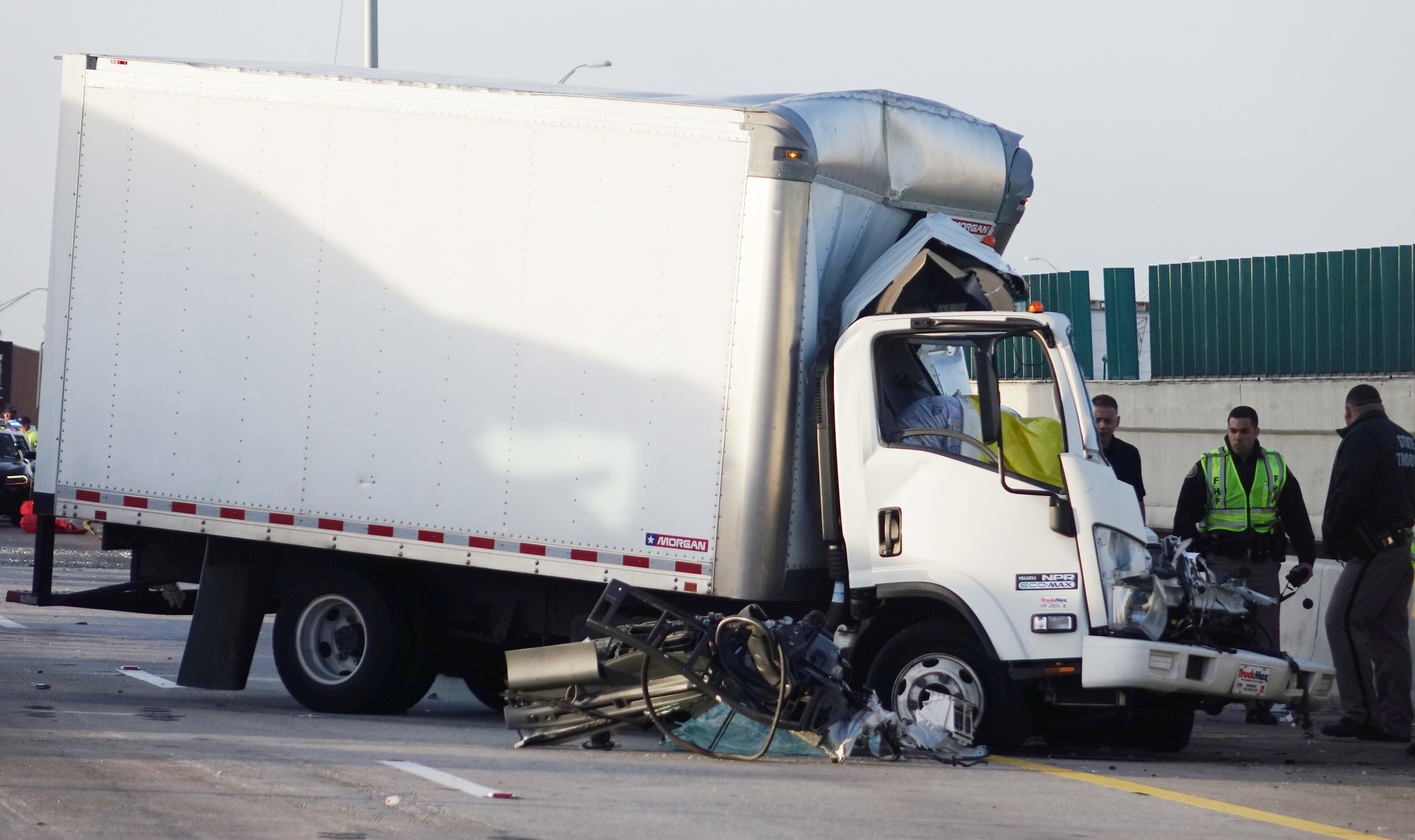 Man dies in I-95 crash in Broward; traffic snarled for hours - Sun ...