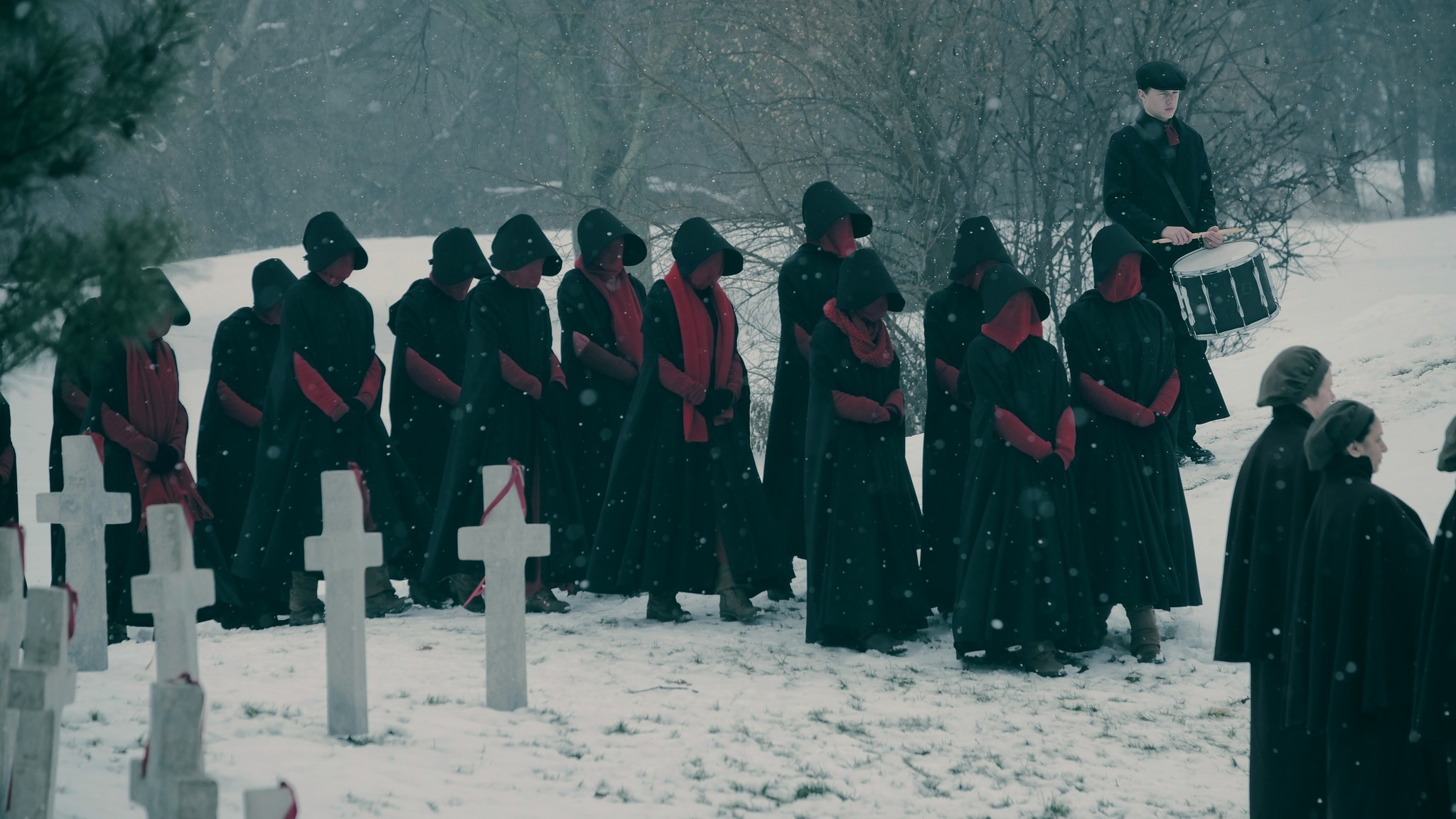 "First look images of ""The Handmaid's Tale"""