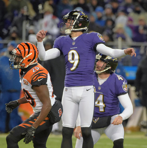 Three Ravens selected to All-AFC team in voting by Pro Football Writers of America