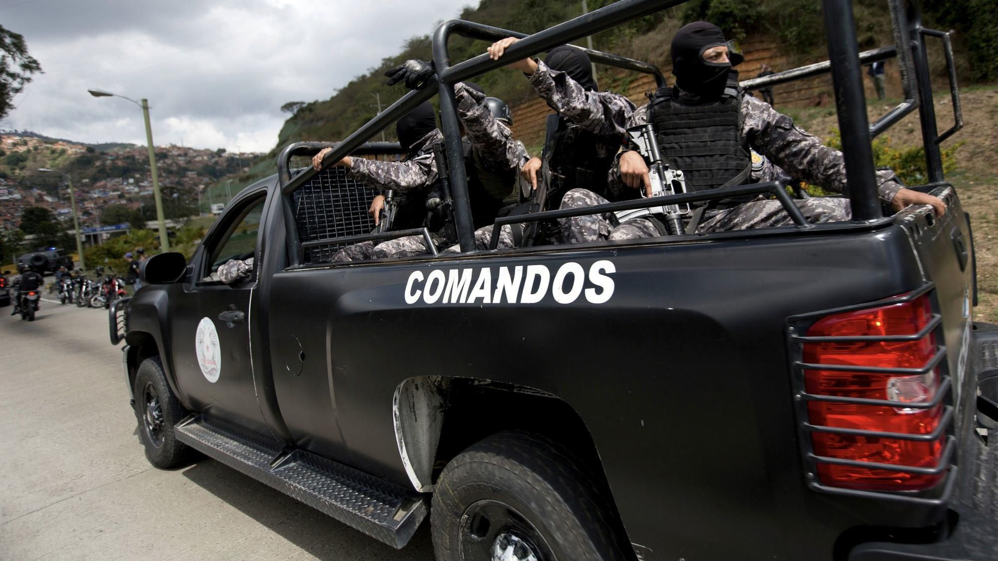 Rogue police officer known as Venezuelan Rambo is cornered by government