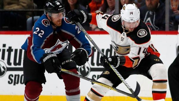 Avalanche Beat Ducks 3-1 For Seventh Straight Win