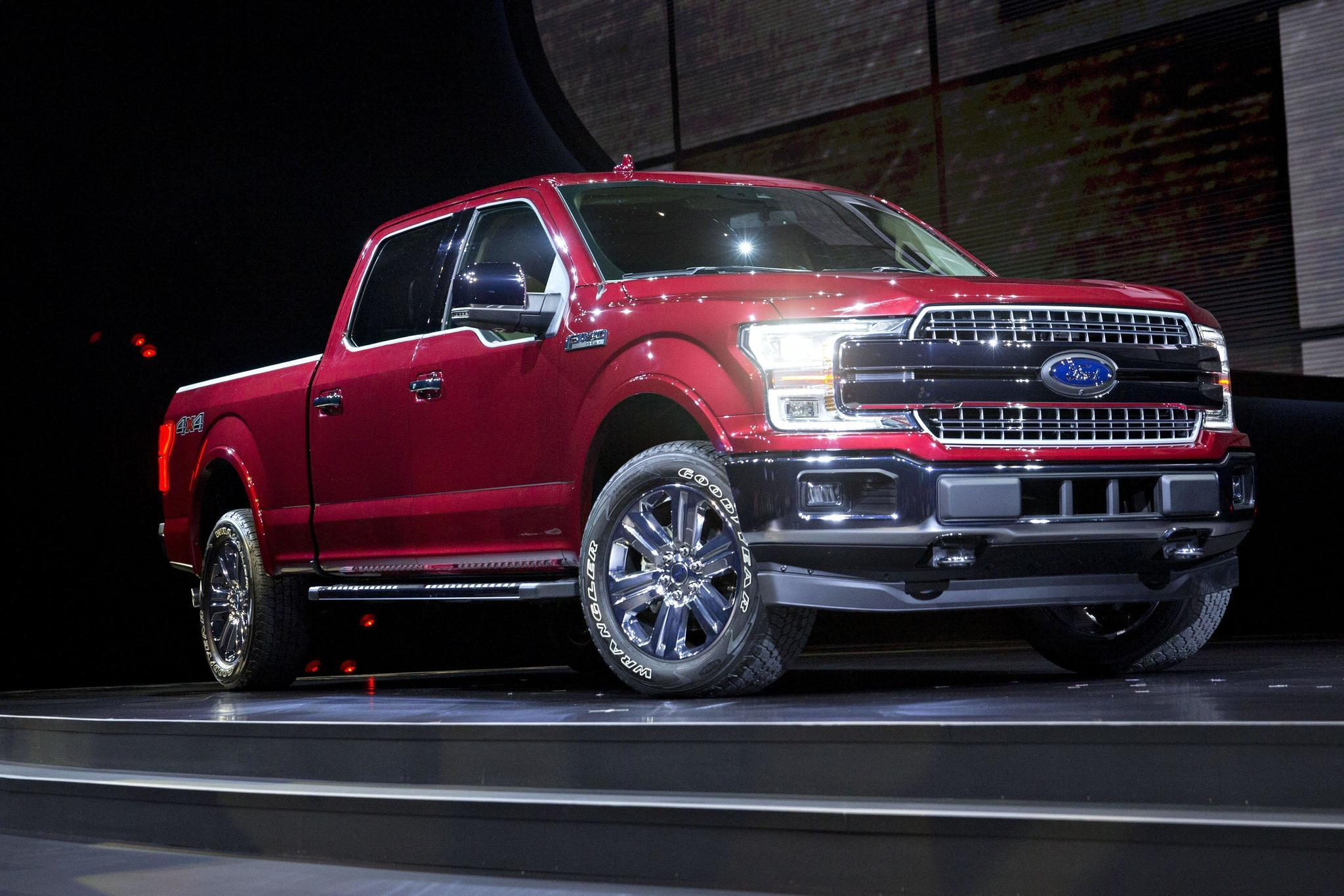 ford to offer diesel for first time in best selling f 150 daily press. Black Bedroom Furniture Sets. Home Design Ideas