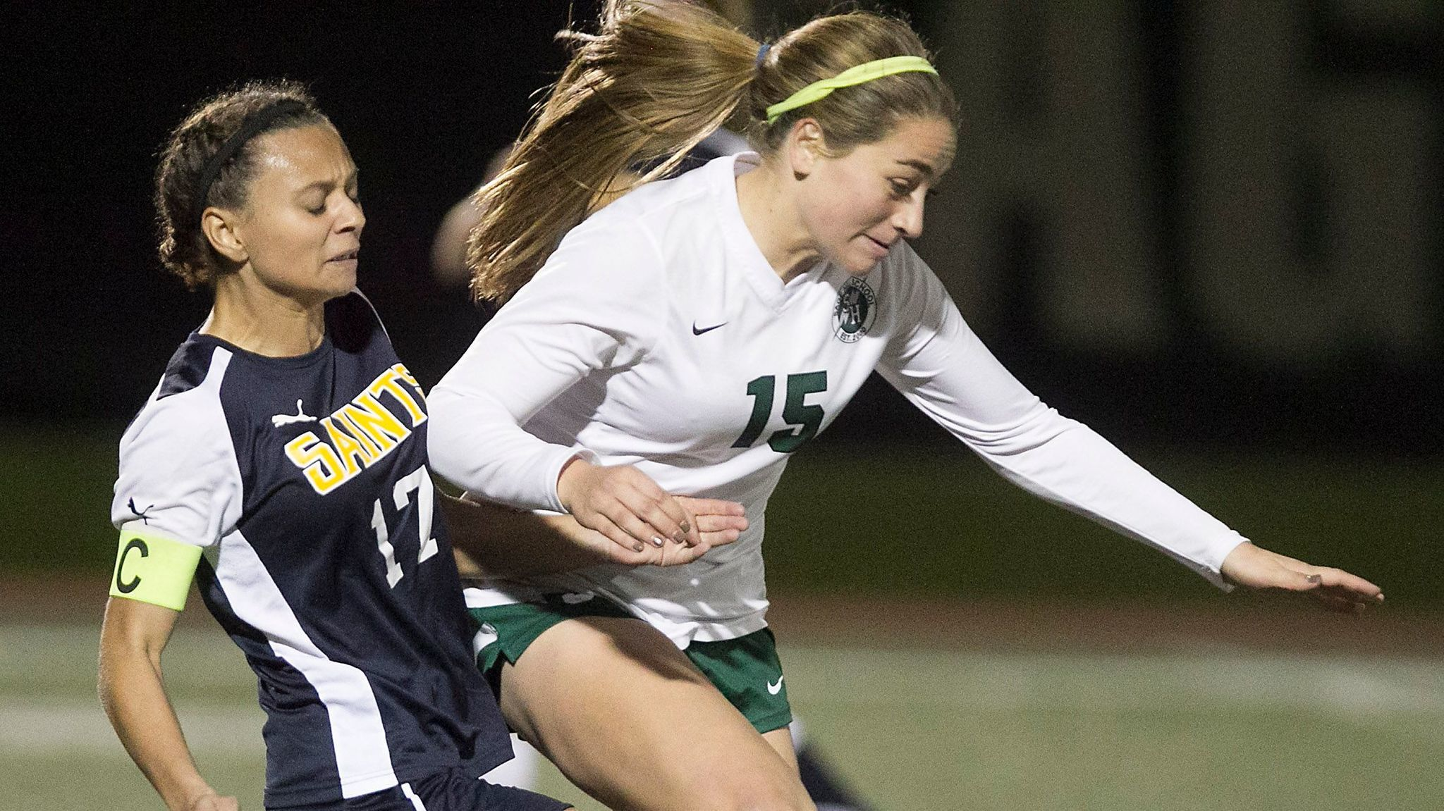 Sage Hill girls' soccer player Taylor Magliarditi