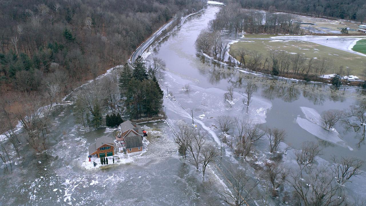 Kent Hit Hard By Housatonic River Flooding; Hundreds Of ...