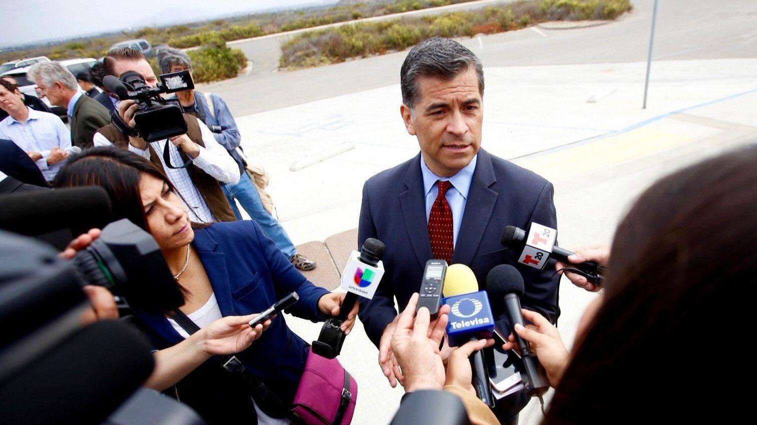 California Atty. Gen. Xavier Becerra (Francine Orr / Los Angeles Times)