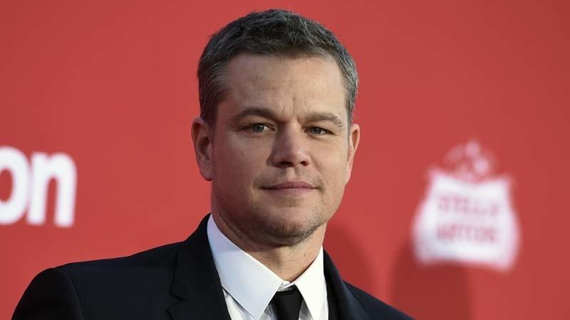 Matt Damon. (Jordan Strauss / Associated Press)