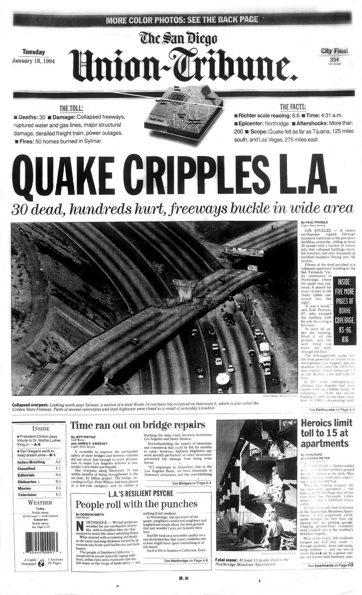 January 18, 1994